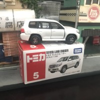 Tomica no 5 Toyota Land Cruiser