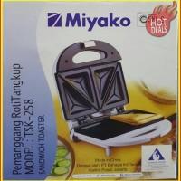 [Terlaris] Miyako - Pemanggang Roti Tangkup TSK-258