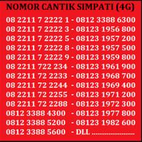 Jual Perdana Nomor Cantik No Telkomsel XL Indosat Simpati AS AXIS MURAH Murah