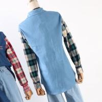 KEMEJA WANITA TERBARU Kemeja Atasan Wanita Dress Korea Import Baju