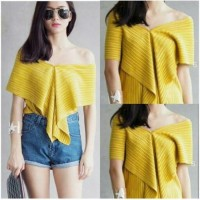 BAJU ATASAN BAJU WANITA MURAH Sabrina Top Multiwear 3 Model (Baju