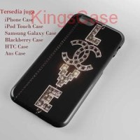 Chanel Silvertone Love And Peace Phone Case Semua Type HP