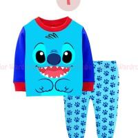 Harga jw 33 i lilo stitch baju tidur anak laki laki piyama import | Hargalu.com