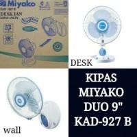 Miyako Kipas Angin KECIL Meja Dinding Tembok Kad-927 B