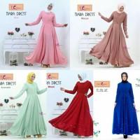 Tiara Dress/gamis/murah/terbaru/muslim/emma queen