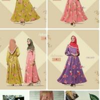 Adreena Dress/gamis/murah/muslim/terbaru/emma queen