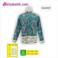 Busana Batik Modern, Baju Batik, Gambar Baju Batik, MJ024KKT