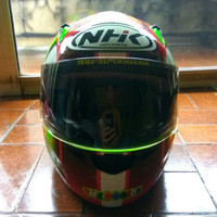 Helm NHK Full Face VR 46 Valentino Rossi 5 Elements Superfluo Langka