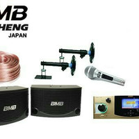 paket karaoke BMB Speaker ,Amplifier Super JAPAN Teoheng