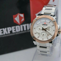 JAM TANGAN EXPEDITION LADIES E6606 ORIGINAL SILVER