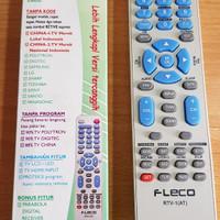 Remot multi LED LCD TV TABUNG korea jepang china