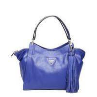 Jual Tas Guess Bag ori original Tassel shoulder bag blue Murah