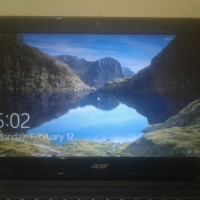 laptop murah acer aspire e1 second