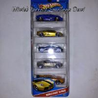 Hot Wheels Giftpack GP World Racer 5 Pack Mazda Furai Lamborghini