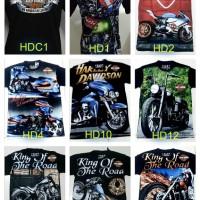 Kaos Distro Motor HARLEY DAVIDSON