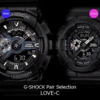 Jam Tangan Couple Pria Wanita Casio Gshock Type GA110 ORI BM Free Yes