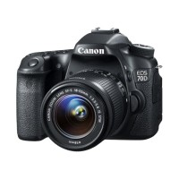 Canon EOS 70D Kit 18-55mm IS STM Wifi Kamera DSLR - Hitam