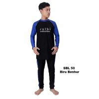 Jual Baju Renang Pria Big Size XXL/3L/4L Lengan Panjang Celana Panjang
