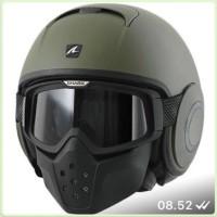Helm Shark Raw Green Matt Army Edition size M L XL ready Ori France