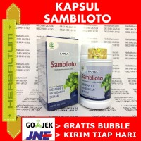 Kapsul Sambiloto 60 Kapsul Tazakka - Herbal Pereda Demam
