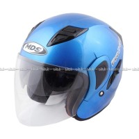 Helm MDS Pro D-One Solid-Cyan BL/BK