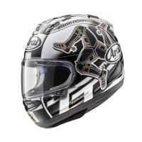 Arai RX7X TT IoM 2017 Helm Full Face - Graphic Black