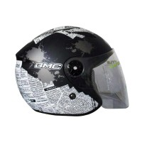 BMC Hot News Helm Half Face - Black