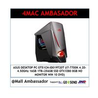ASUS ROG PC GT51CH - i7 7700-16GB-256GB-1TB-GTX1080