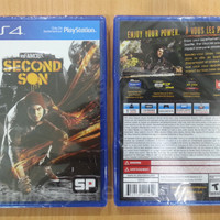 Game Ps4 Infamous: Second Son Reg All English