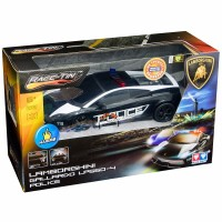 RACE TIN LAMBORGHINI GALLARDO POLICE 1 16 Scale LICENSED RC SUPERCAR