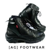 Sepatu Boots Safety Pria Wanita Kulit Asli Kickers PDL Bagus Murah