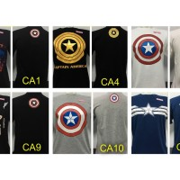Kaos Superhero CAPTAIN AMERICA SUPERMAN IRONMAN BATMAN HULK SPIDERMAN