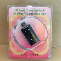 USB Sound Card Soundcard Channel 7 1