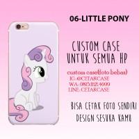 custom case my little pony semua tipe hp softcase hardcase oppo iphone