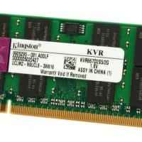 RAM Laptop DDR2 2GB KINGSTON Pc2