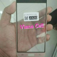 KACA LCD KACA DEPAN KACA TOUCHSCREEN SAMSUNG J320 J3 2016 ORIGINAL