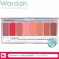 Lip Palette ChocoAholic Wardah Lipstik BEST SELLER