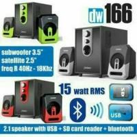 Speaker DAZUMBA DW 166 Bluetooth Speaker Aktif