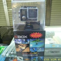 Action Cam Sbox S-One 4K Ultra Hd 21Mp Sport Camera Act Murah