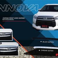 Aksesoris Mobil Toyota Innova All New Front Hood Garnish Kap Mesin 025