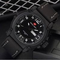 Pomo !!! jam tangan pria / cowok swiss army paket winner store