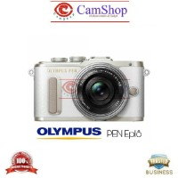 OLYMPUS EPL8 KIT 14-42 EZ (White) -Camera Mirrorless 16MP WIFI