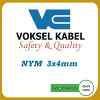 Kabel NYM Voksel 3x4mm 100meter ORIGINAL 100%