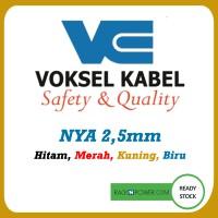 Kabel Listrik Voksel NYA 2,5 mm 100meter Black,Blue,Red,Y/G