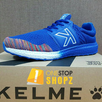 KELME FLOAT KNIT ROYAL BLUE RUNNING TRAINING SHOES ONESTOPSHOPZ
