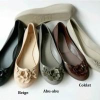 Sepatu Flat Jelly Wanita Keren - LD 7033