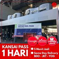 JAPAN KANSAI PASS 1 HARI (ANAK) | JR Kansai Area Pass Jepang