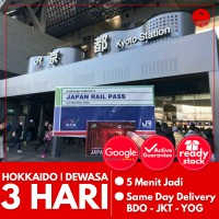 JAPAN HOKKAIDO RAIL PASS 3 HARI (DEWASA) | JR Hokkaido Pass Jepang