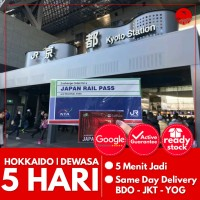 JAPAN HOKKAIDO RAIL PASS 5 HARI (DEWASA) | JR Hokkaido Pass Jepang