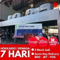 JAPAN HOKKAIDO RAIL PASS 7 HARI (DEWASA) | JR Hokkaido Pass Jepang